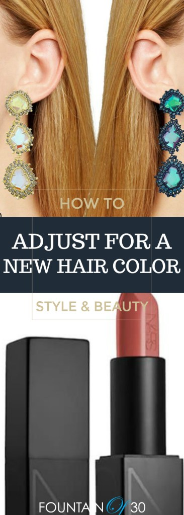 How To Adjust Your Wardrobe and Makeup For A Totally New Hair Color