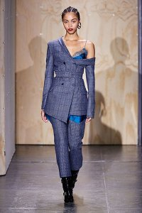 fall 2019 fashion trend deconstructed suiting Jonathan Simkhai