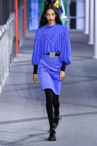 billowy sleeves fall 19 fashion Louis Vuitton