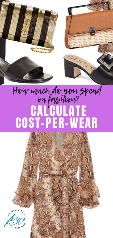 what is cost per wear