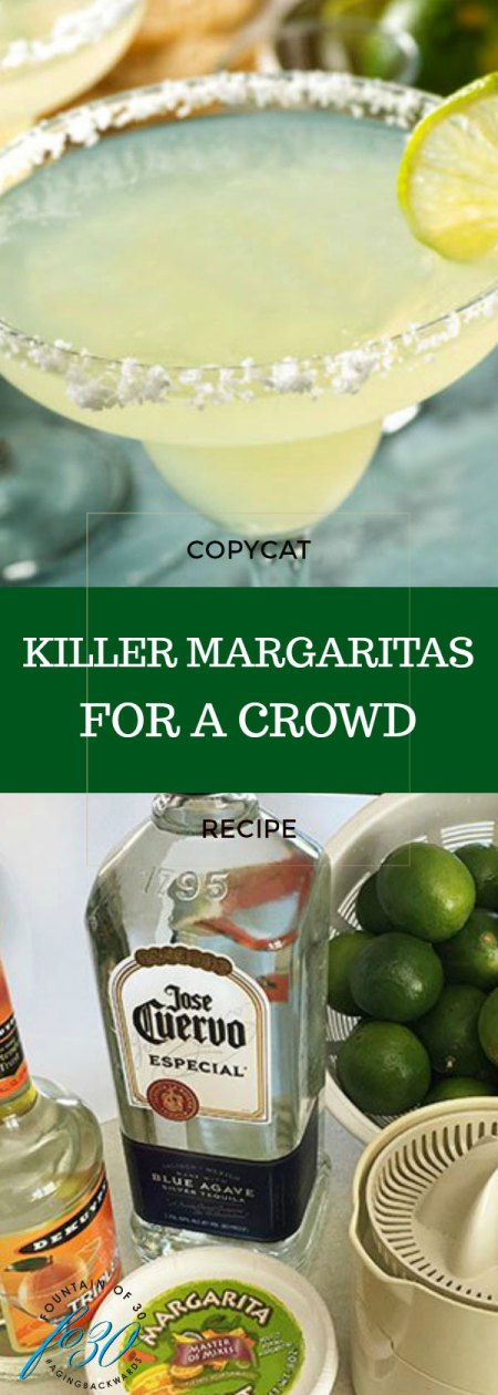 best margaritas for a crowd fountainof30
