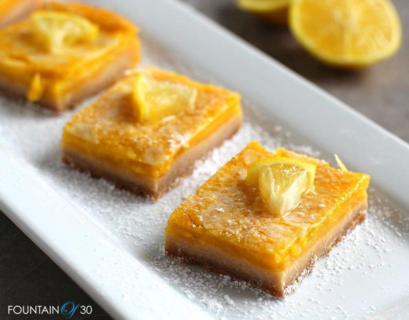 paleo lemon bars fountainof30