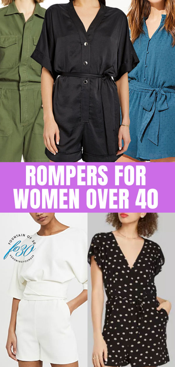 rompers for women over 40 fountainof30