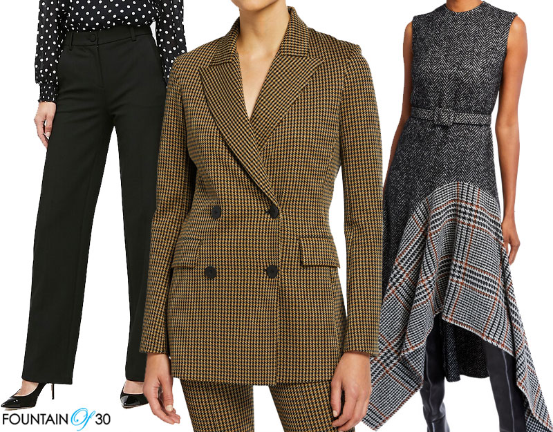 Fall Menswear Trend women over 40 fountainof30