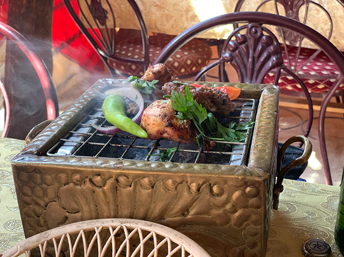 egyptian cuisine Grilled Chicken And Kofta In Egypt fountainof30