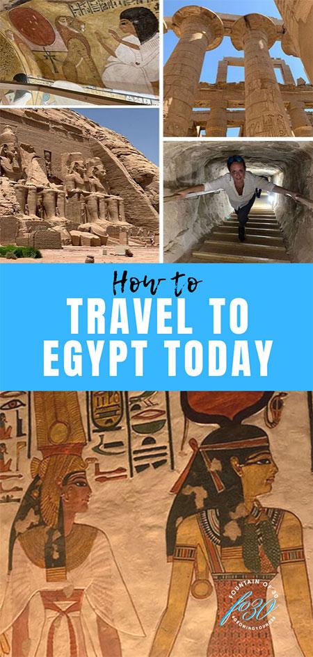 egypt travel guide fountainof30