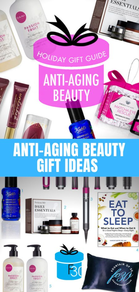 anti-aging beauty gift ideas holiday 2019 fountinof30