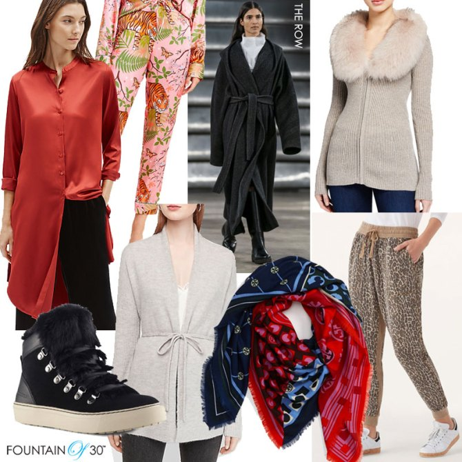 casual outfits new years eve sweaters pajamas sneakers fountainof30