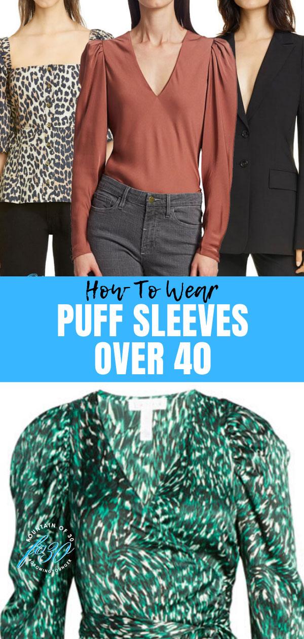 puff sleeve trend fountainof30