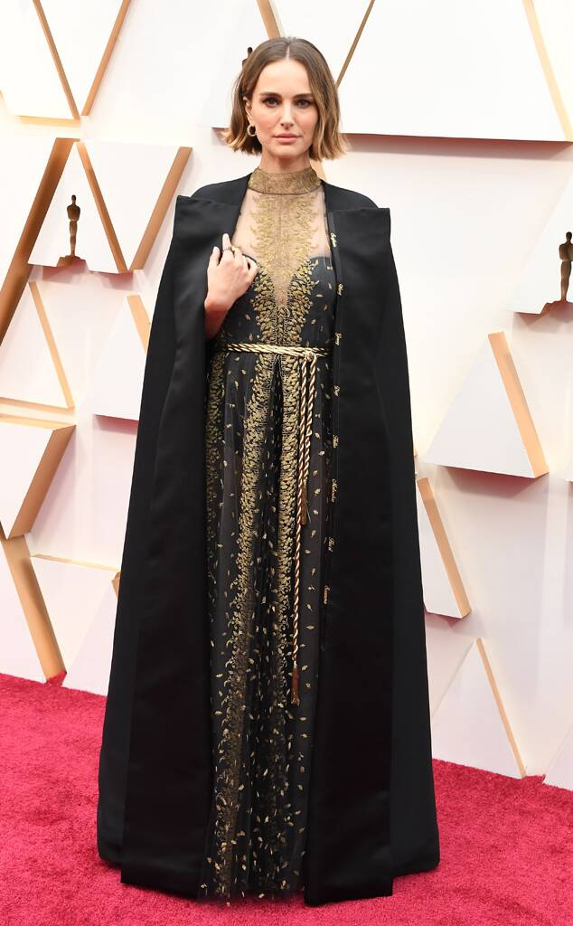 Oscars 2020 Best Dressed on The Red Carpet natalie portman
