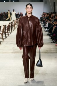 fall fashion trends leather jil sander fall 2020