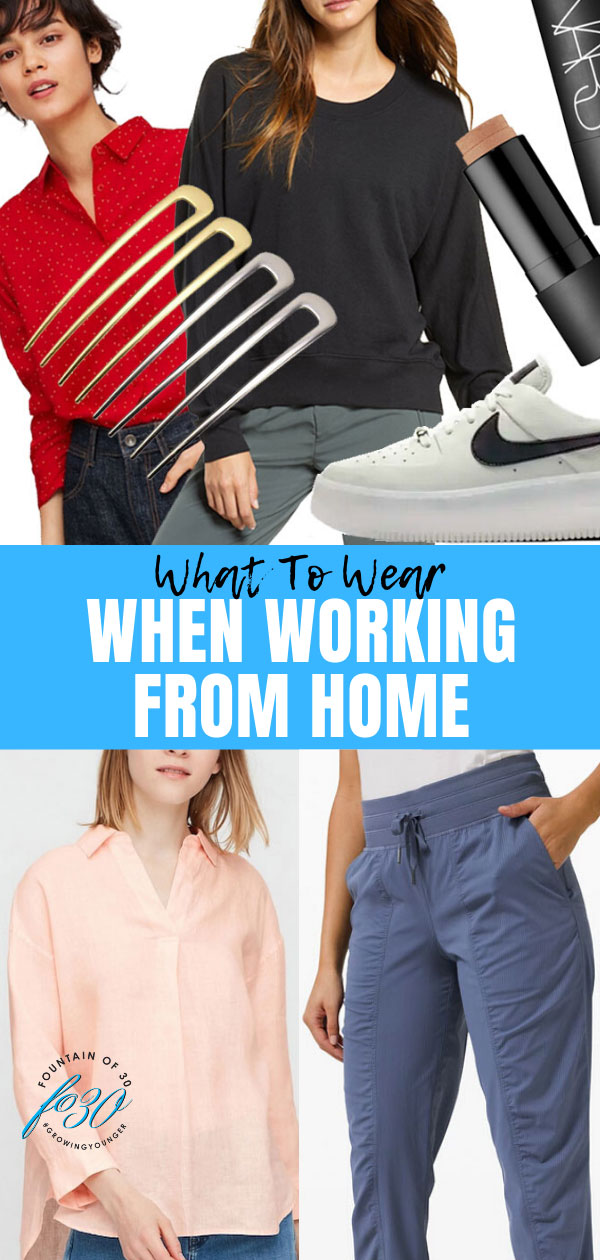 what to wear work from home fountainof30