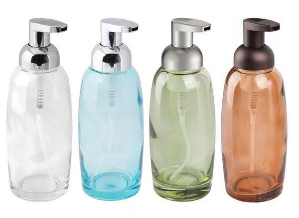 home goods self-care foaming soap dispensers fountainof30