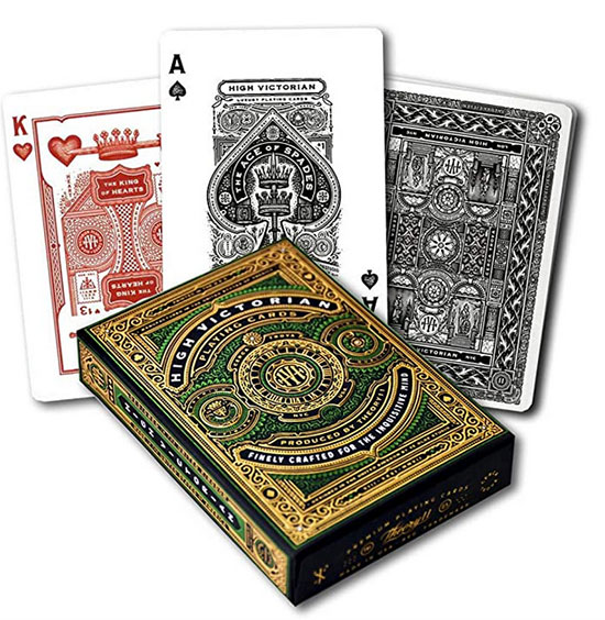 Relaxing Activities playing cards