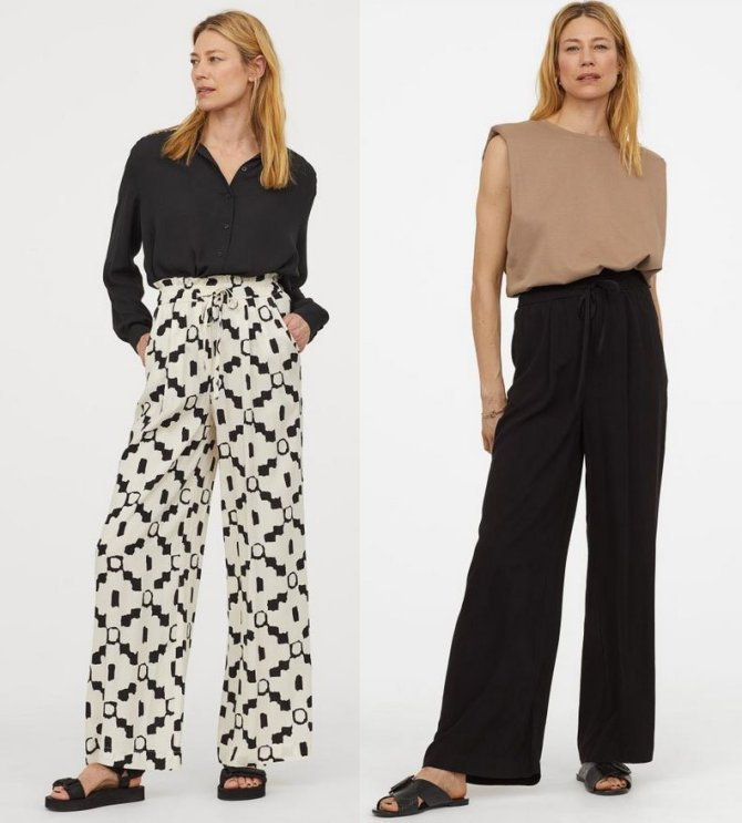 slouchy pants trend hM wide leg fountainof30