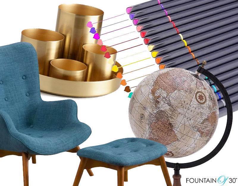 home offcie desk setup fountainof30