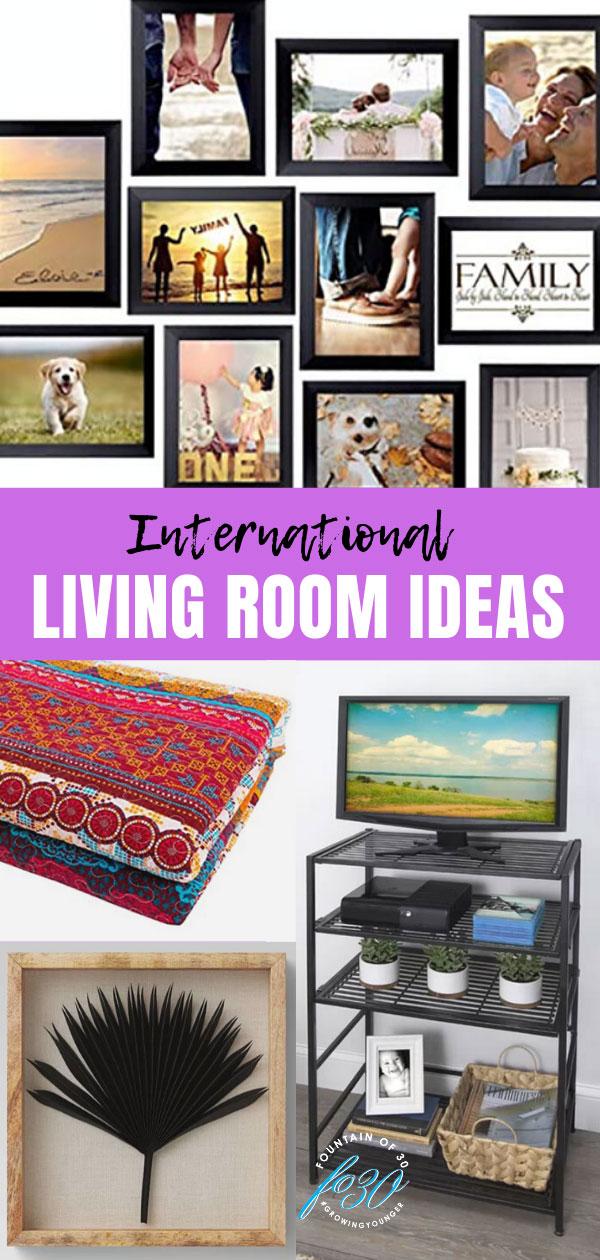 international living room ideas