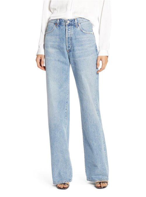 slouchy High Waist Trouser Jeans fountainof30
