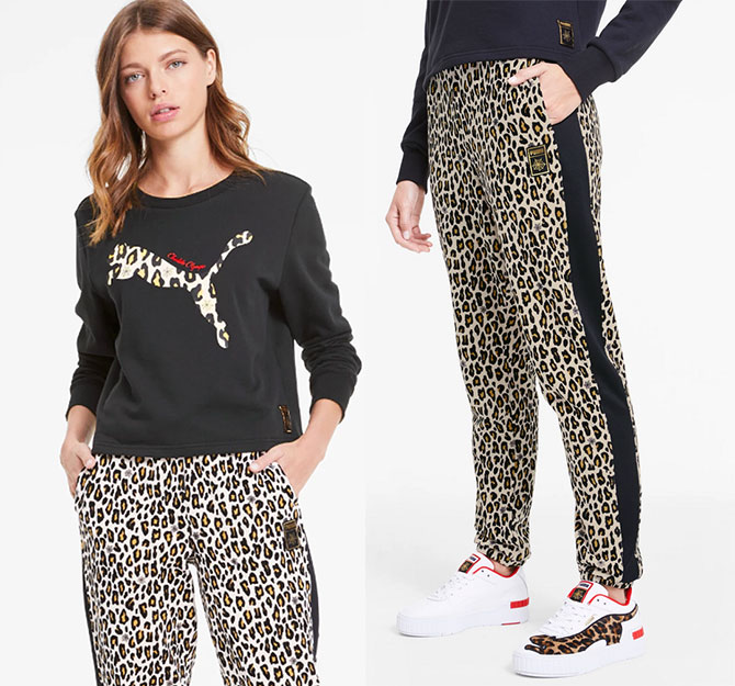 PUMA x CHARLOTTE OLYMPIA sweats for women over 40 fountainof30