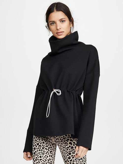 Black hooded sweatshirt drawstring fountainof30