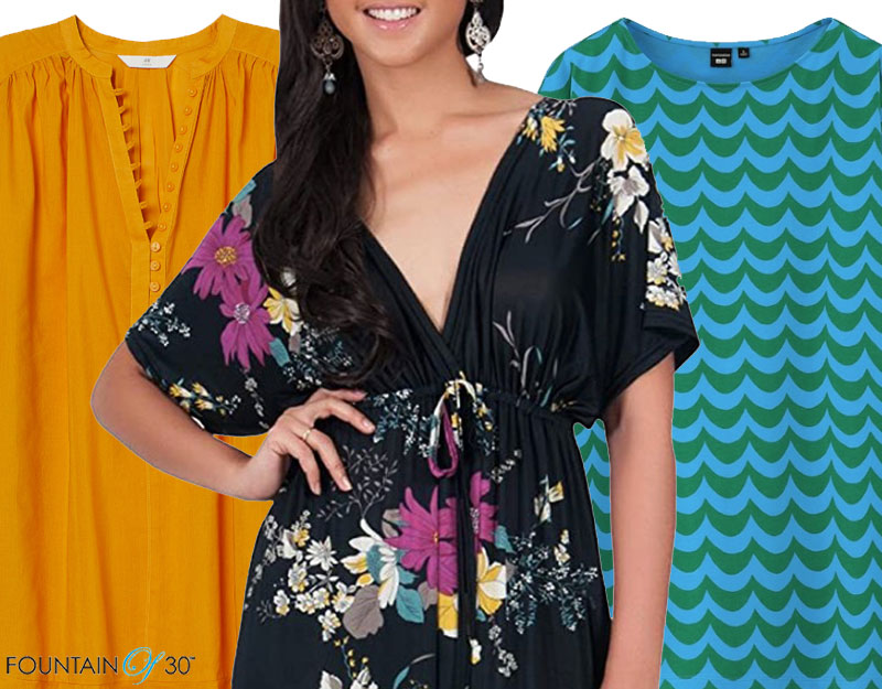 caftans and tunics for women over 40 fountainof30