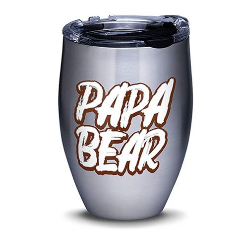 Tervis Papa Bear Stainless Steel Insulated Tumbler with Lid
