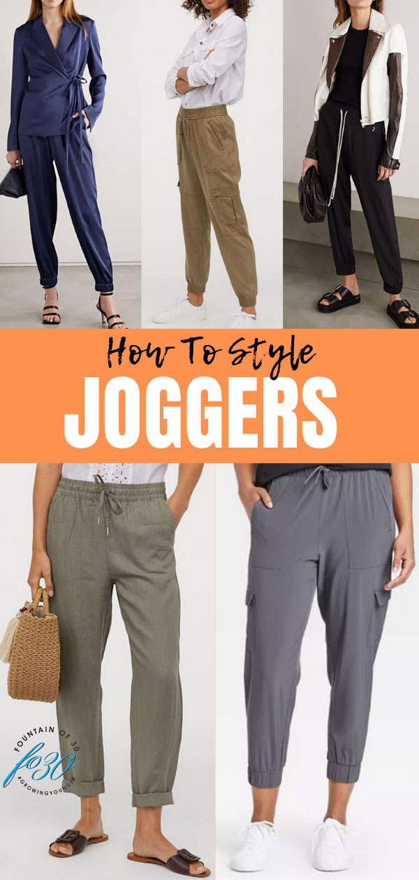 how to style joggers fountainof30