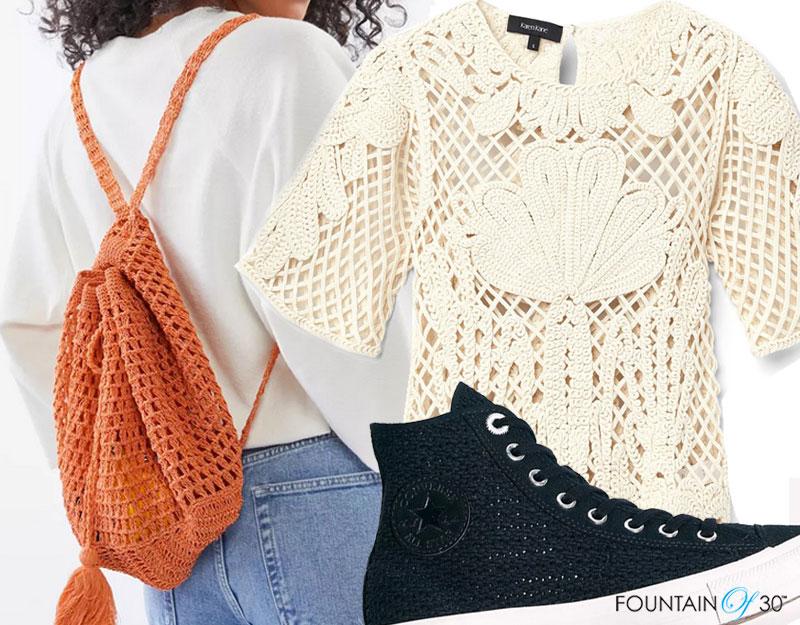 crochet knits trend fountainof30