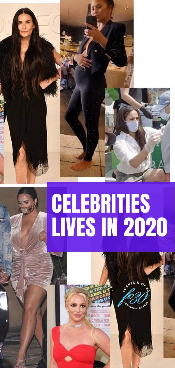 celebrities lives in 2020 fountainof30