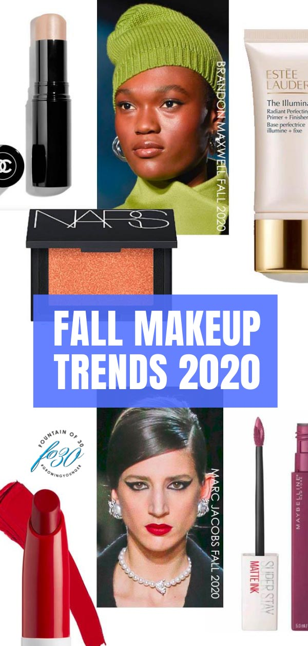 fall makeup trends 2020 fountainof30