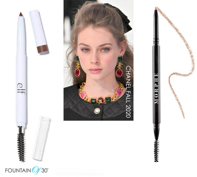 fall makeup trends over 40 bushy brows