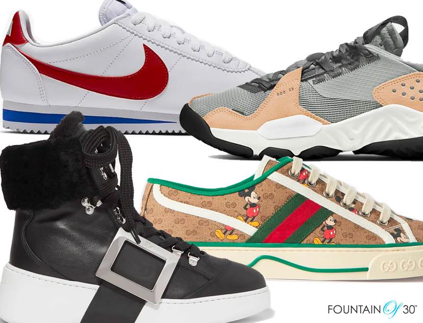 new sneaker trends fountainof30