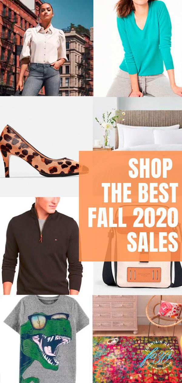 fall sales 2020
