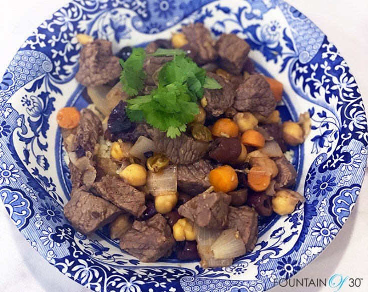 Moroccan Beef Stew recipe fountainof30