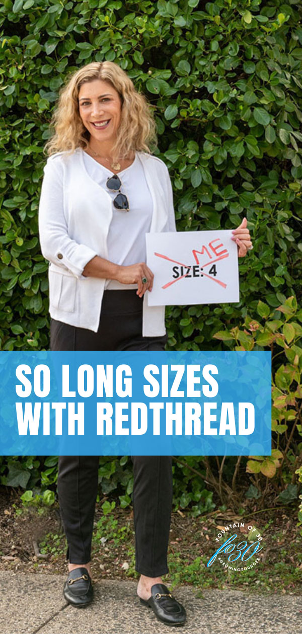 so long sizes with redthread fountainof30
