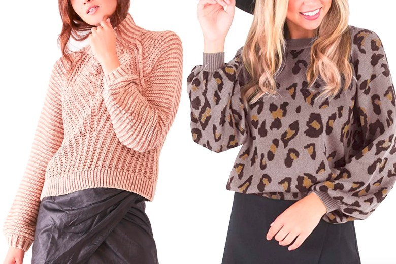 fall to winter sweaters under 100 fountainof30