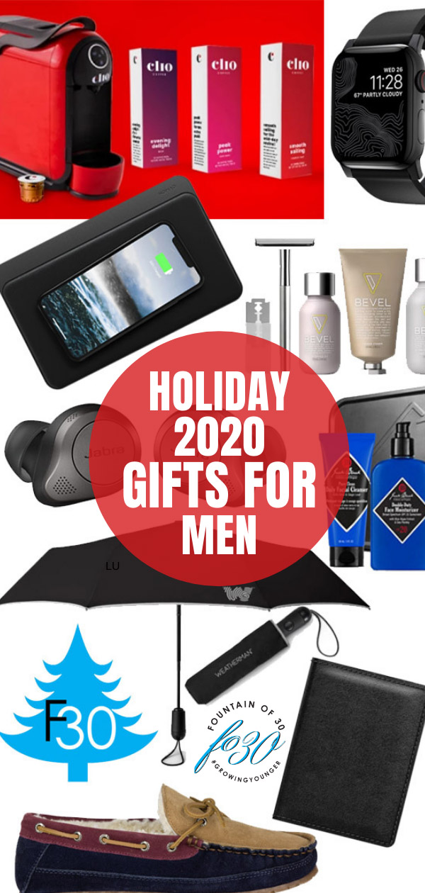 holiday 2020 gifts for men fountainof30
