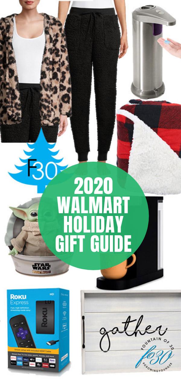 walmart holiday gift guide 2020 fountainof30