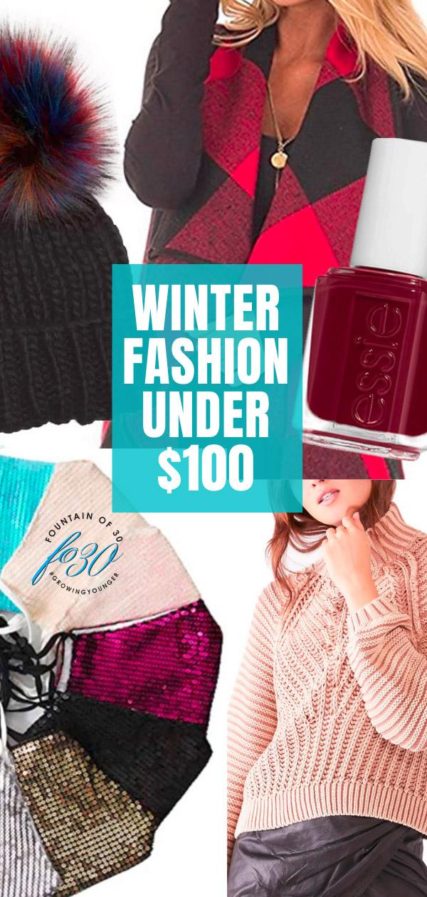 winter fashion under 100