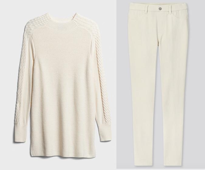 holiday looks monochromatic creat sweater pants fountainof30