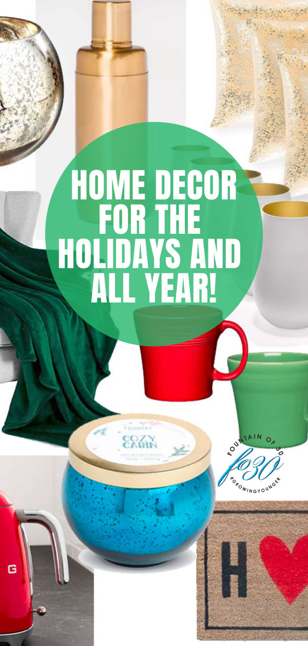 home decor for the holidays and all year fountainof30