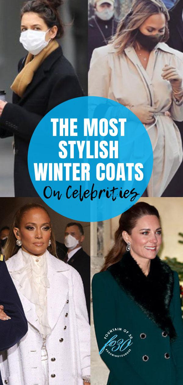 winter coats on celebrities