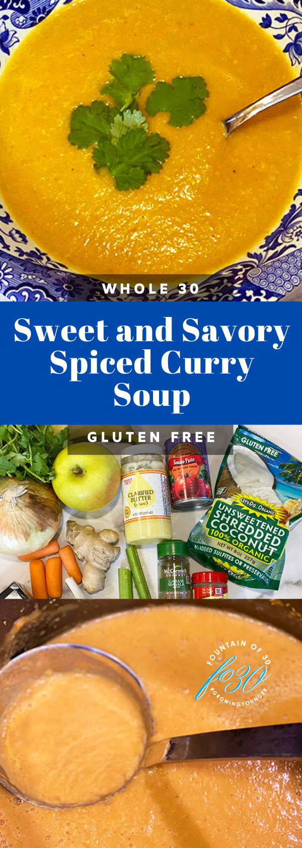 whole30 spiced curry soup fountainof30