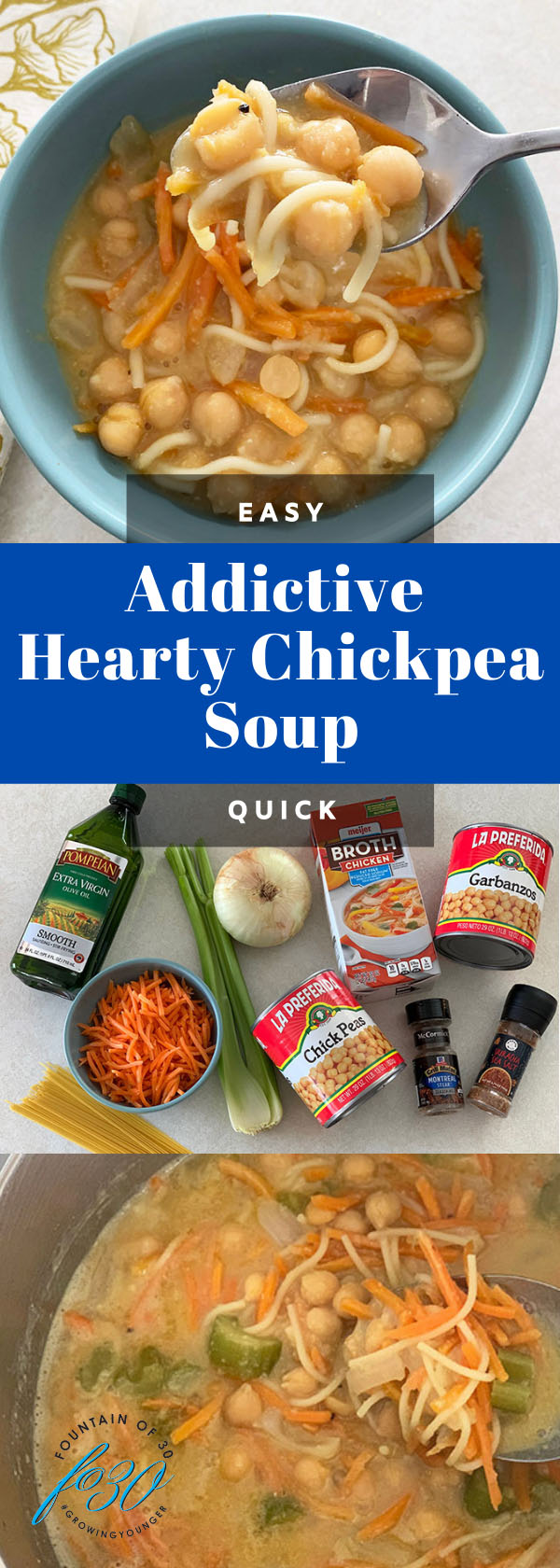 easy chickpea soup fountainof30
