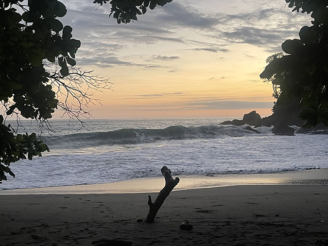 beach Manuel Antonio costa rica travel fountainof30
