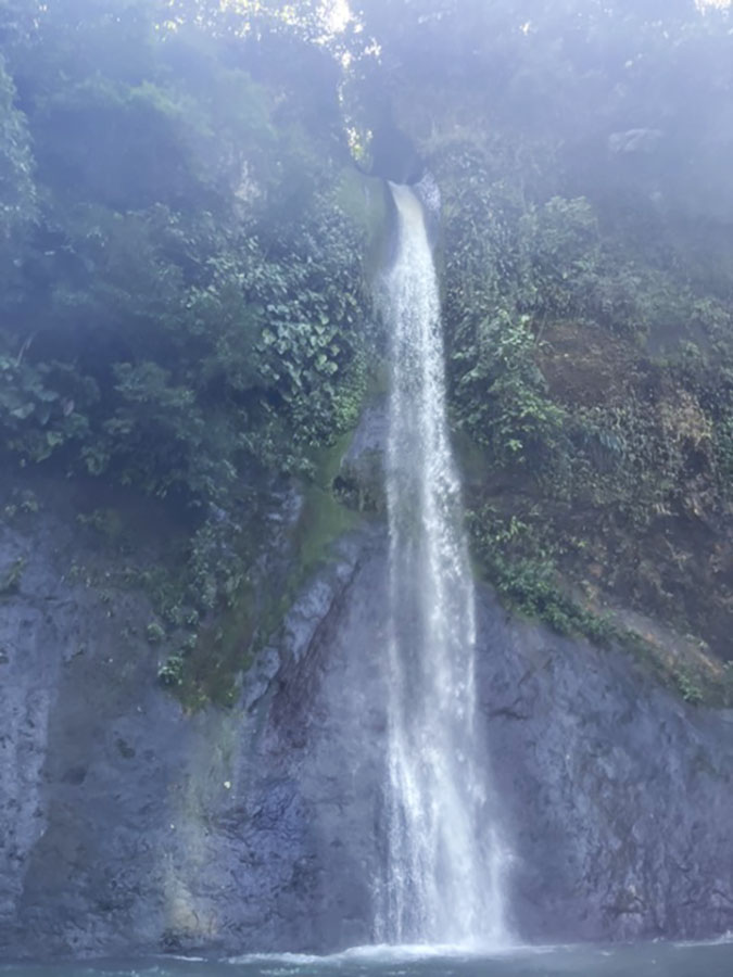 Pacuare River waterfall costa rica travel fountainof30