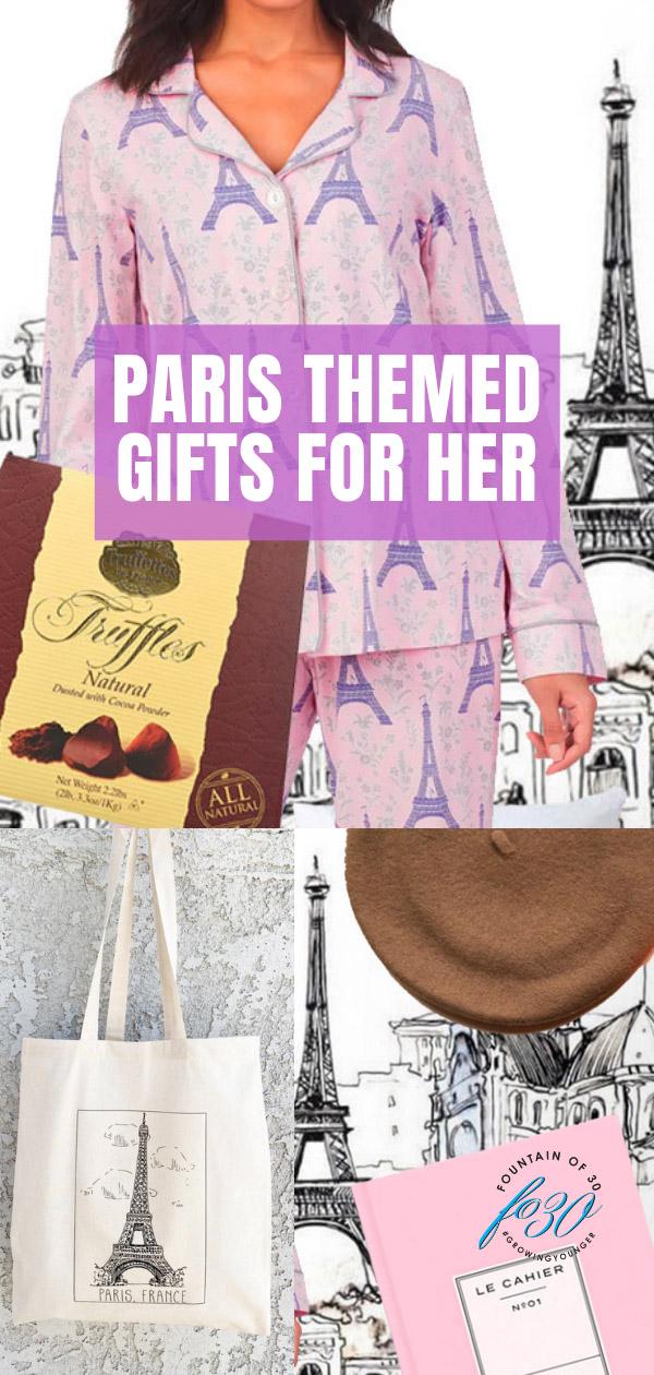 paris themed gift guide fountainof30