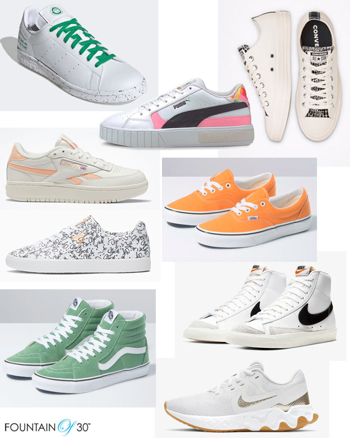 sneakers for spring under 100 fountainof30