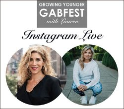 growing younger gabfest Instagram Live fountainof30