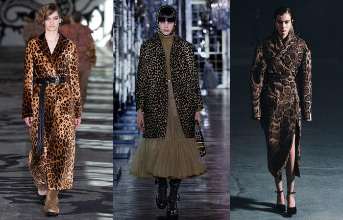 leopard coats fall 2021 runway fountainof30